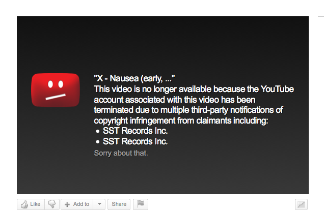 Dmca: YouTube Copyright Takedown Targets Punk Bands
