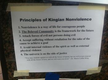 Principles of Kingian Nonviolence