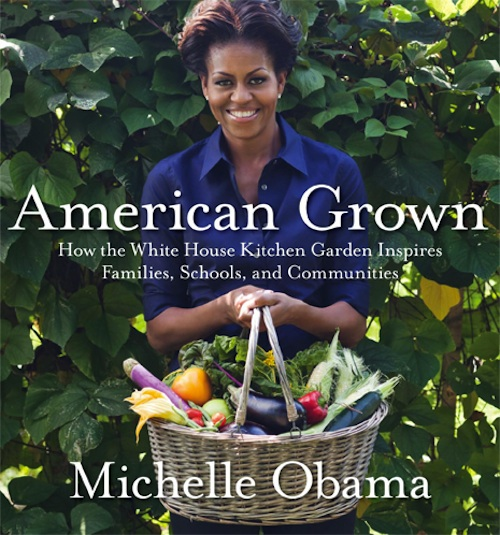 Book Cover White Kitchen : Michelle obama cookbook american grown to be released