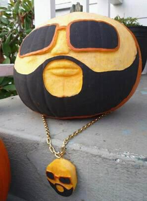 Rap O Lantern Rick Ross Pumpkin Goes Viral For Halloween