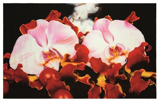 2011-11-04-6_SELFRIDGES_EXCLUSIVE_brit_artist_Marc_Quinn_silk_scarf_Black_orchid_accessories_buy_online.jpg