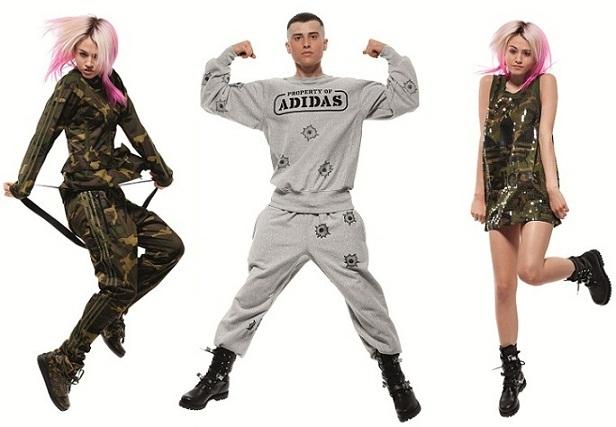the latest 5887b c74ed 2011-11-08-4 adidas originals jeremy scott bobondage trousers 2011 camo print camoflage army fashion.jpg.  From Jeremy Scott x Adidas Originals ...