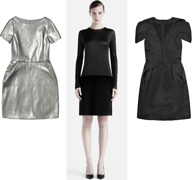 2011-11-10-7_Cos_metallic_silver_sequin_shift_dress_short_sleeve_origami_style_black_long_sleeve_satin_rib_knit.jpg