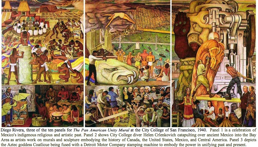 Diego rivera at moma makes us ask what happened to the for Diego rivera mural in san francisco