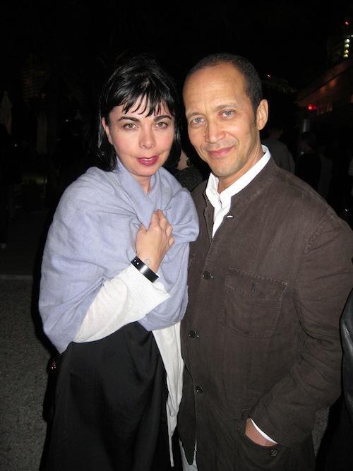 2011-12-02-SuzanneMalloukandMichaelHolmanatTheStandard.JPG