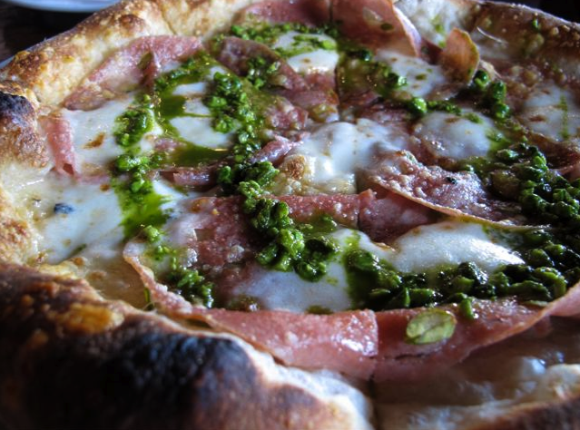 Mortadella Pizza Recipe — Dishmaps
