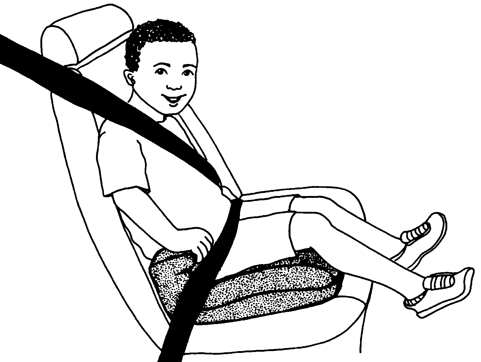 The Murky, Murky World Of Booster Seat Laws