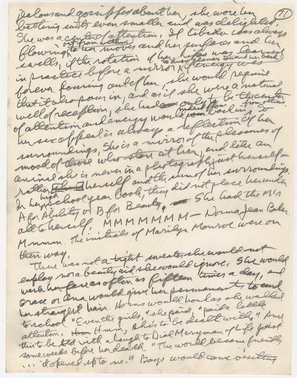 2012-01-10-Handwritten_excerpt_Marilyn_Monroe_Norman_Mailer_Bert_Stern_Taschen_books.jpg