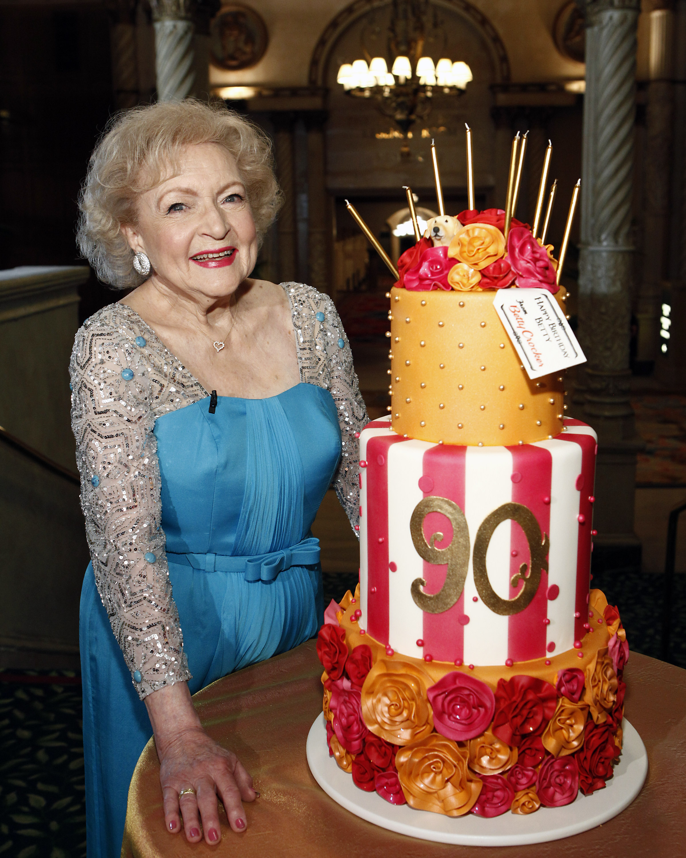 Betty White Betty Crocker Celebrate 90th Birthday With