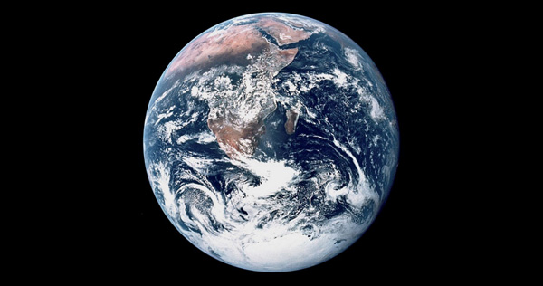 In other words, our iconic Earth was not just a big ball with blue oceans, ...