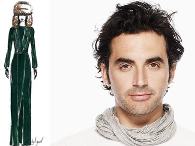 designer Yigal Azrouel has