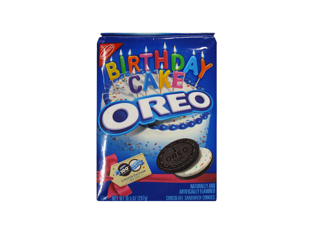 Birthday Cake Oreos Celebrate The Cookies 100th Year And Are