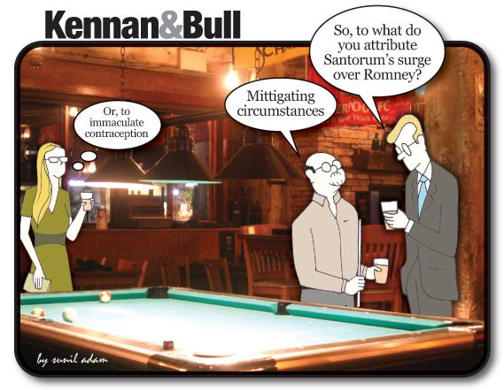 Mitt Romney And The Latter Day Santorum Huffpost