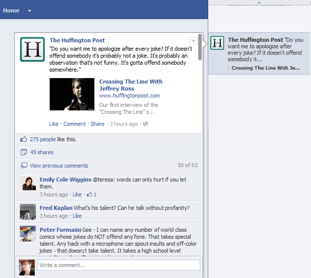 HuffPost Launches Social Reading App for Facebook Timeline | HuffPost