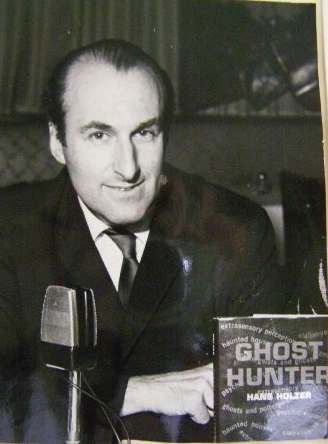 Dr. Hans Holzer with first published book, Ghost Hunter in 1963, that went into over eleven printings, leading to a TV show Ghost Hunter. Where do you think they get this stuff for today's shows circa early 2000's?