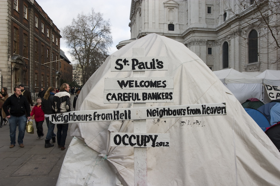 © Paul Davey 2012 St Paul's Welcomes Careful Bankers