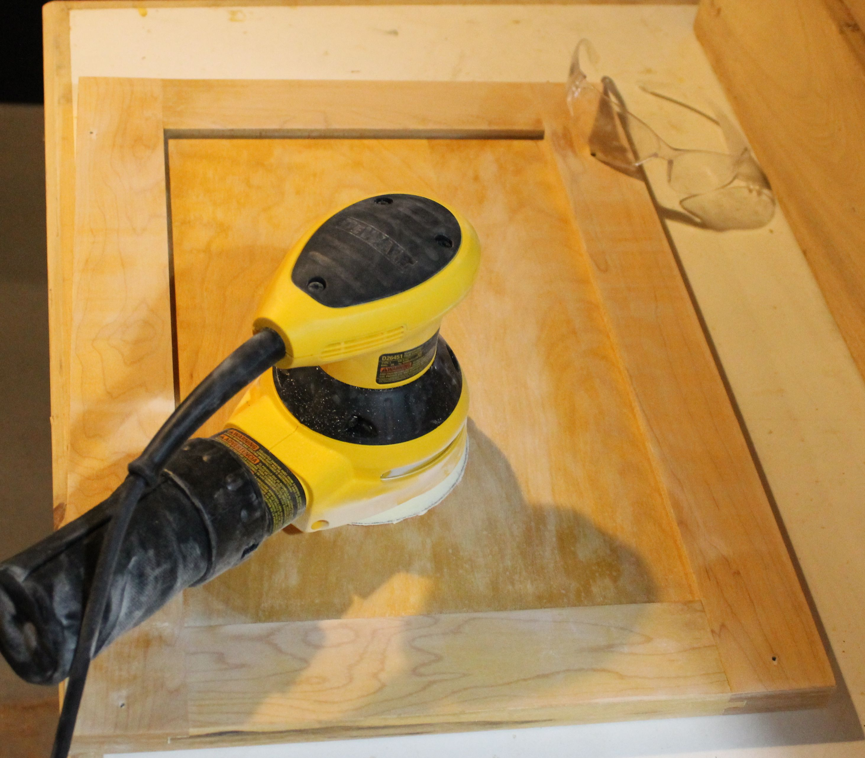 superior Sanding Kitchen Cabinet Doors #3: 2012-04-07-Projectssanding.jpg