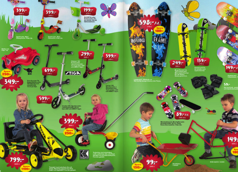 Sweden Trying To Banish Gender Through Toy Advertising And