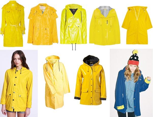 Weekend Shopping: Wet-A-Porter! Sunny Rainwear for Festival Season