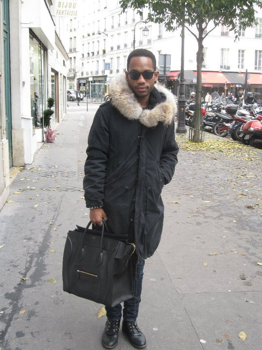 Men In Celine Bags