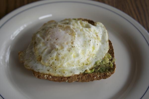 Avocado Breakfast Toast | Small Kitchen College