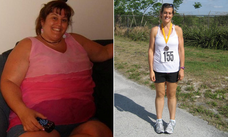 Weight Loss Success: Natasha Cosgrove Committed To Walking ...
