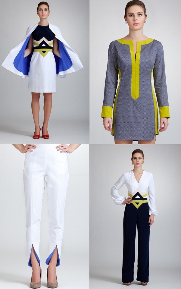 Negarin Fresh Wearable Fashion Cuts Spot On For Working Women