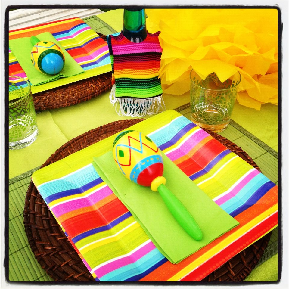 Throw a last minute cinco de mayo party and not be a for Last minute party ideas