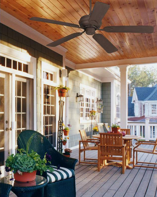 Selecting The Right Outdoor Ceiling Fan Huffpost Life
