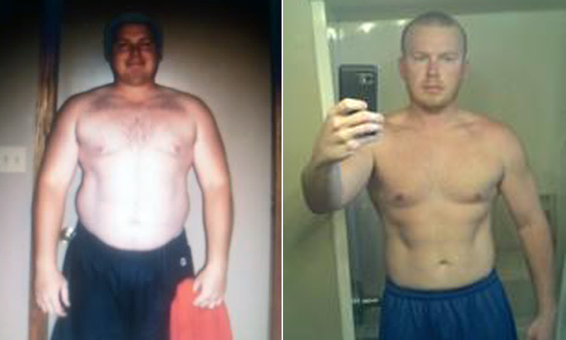 Weight Loss Success Aaron Detweiler Cut Out Fast Food And Lost 75