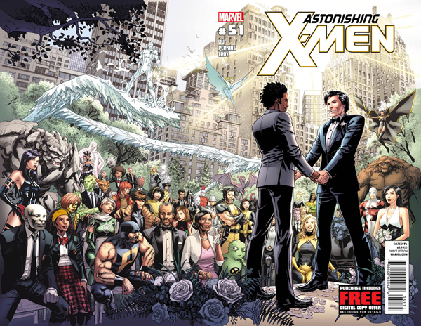 ... of Marvel's first gay marriage between longtime X-Man Northstar and his ...