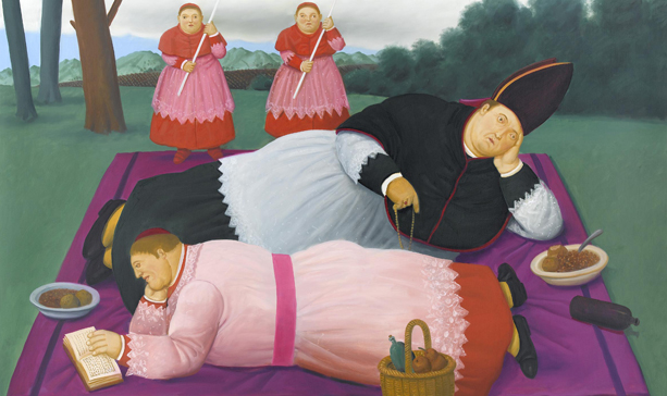 Fernando Botero Most Famous Work