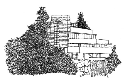 Famous Buildings Of Frank Lloyd Wright Coloring Book Coloring Pages