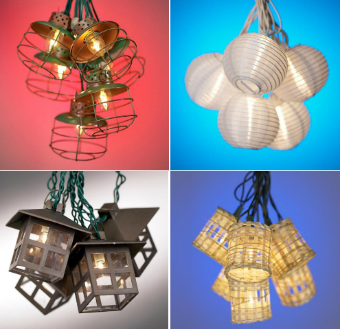 String Light Inspirations for Outdoor Decorating HuffPost