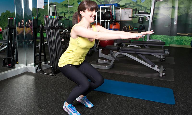 how to fix squat form