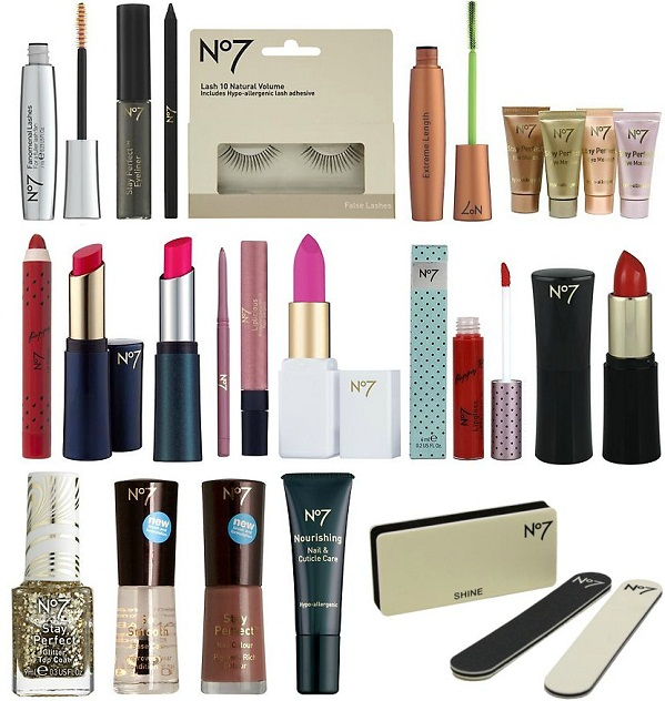 Fashionable Clothes Shoes Jeans Lipsticks Nail Polish: Weekend Shopping: Rediscovering High Street Beauty With