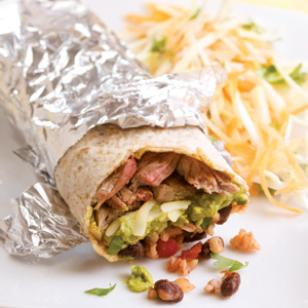 EatingWell's Steak Burritos