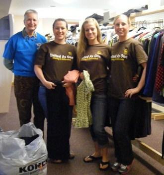 2012-07-02-CaroleandTheUPSvolunteersprepareTheDuffyStoreforShopping.jpg