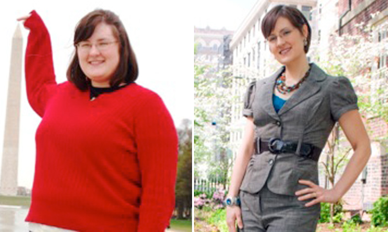 Lost Weight: Sarah Brakke Started Tracking Her Food And Exercise And