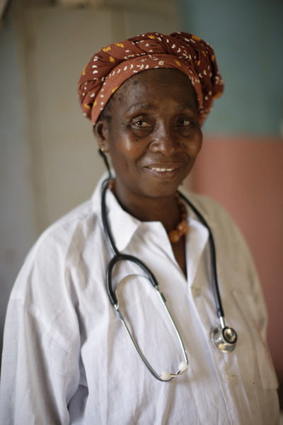 Caption: Madame Madié Diarra, midwife, commune of Tienfala, near to Bamako, Mali. Photographer Credit: WaterAid/Layton Thompson