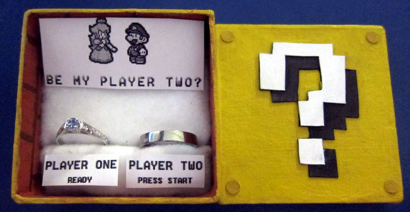 Mario Proposal Woman Invites Boyfriend To Engage In Game Of Love