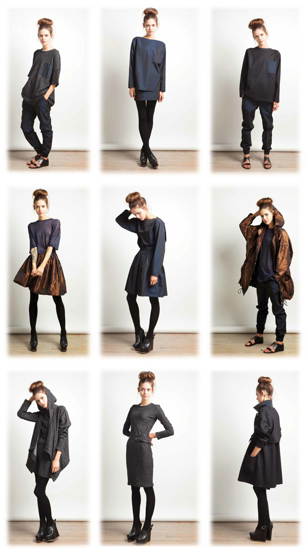 Womenswear from the White Tent AW12 collection