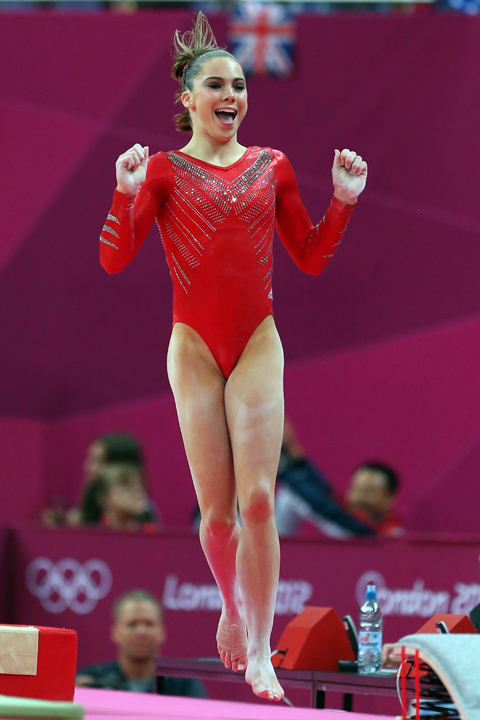 McKayla Maroney, U.S. Olympic Gymnast, Has Serious Spirit (PHOTO)