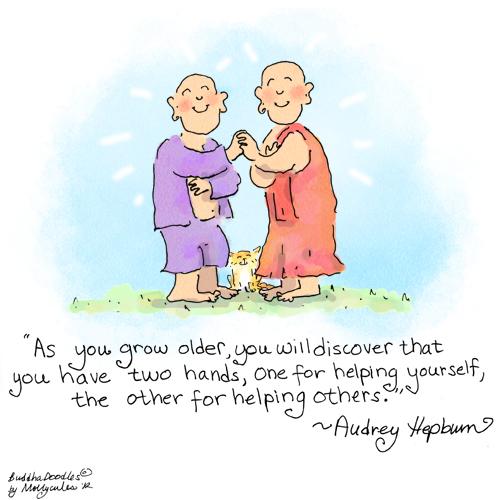 Buddha Doodle -- 'Two Hands' | HuffPost