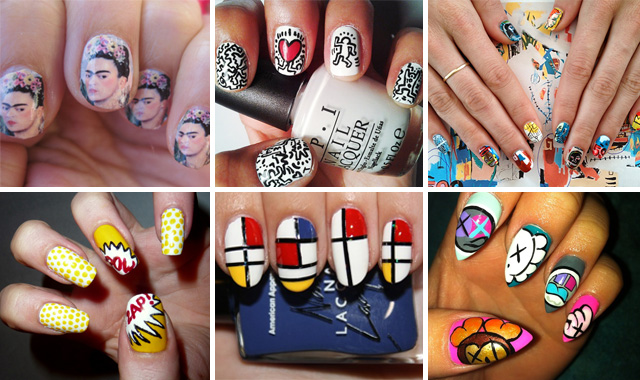 Museum Worthy Nail Art 17 Fingertip Fashions Inspired By Actual