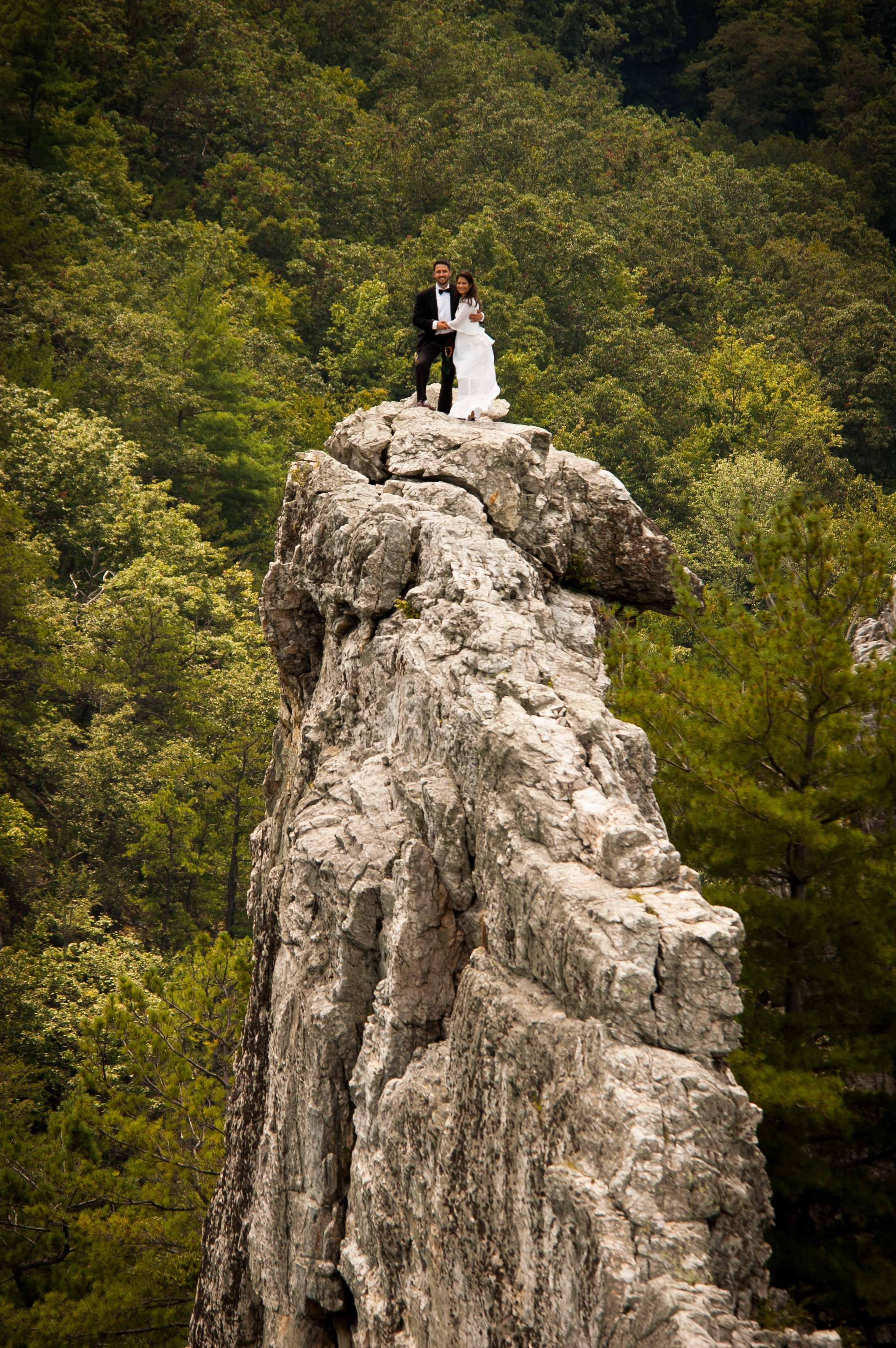 Mountain Wedding Photo Antonie Hodge Ewing Bob Ewing