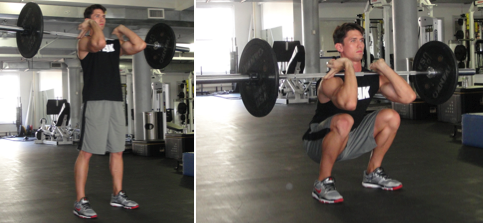 Barbell Front Squat Huffpost Life