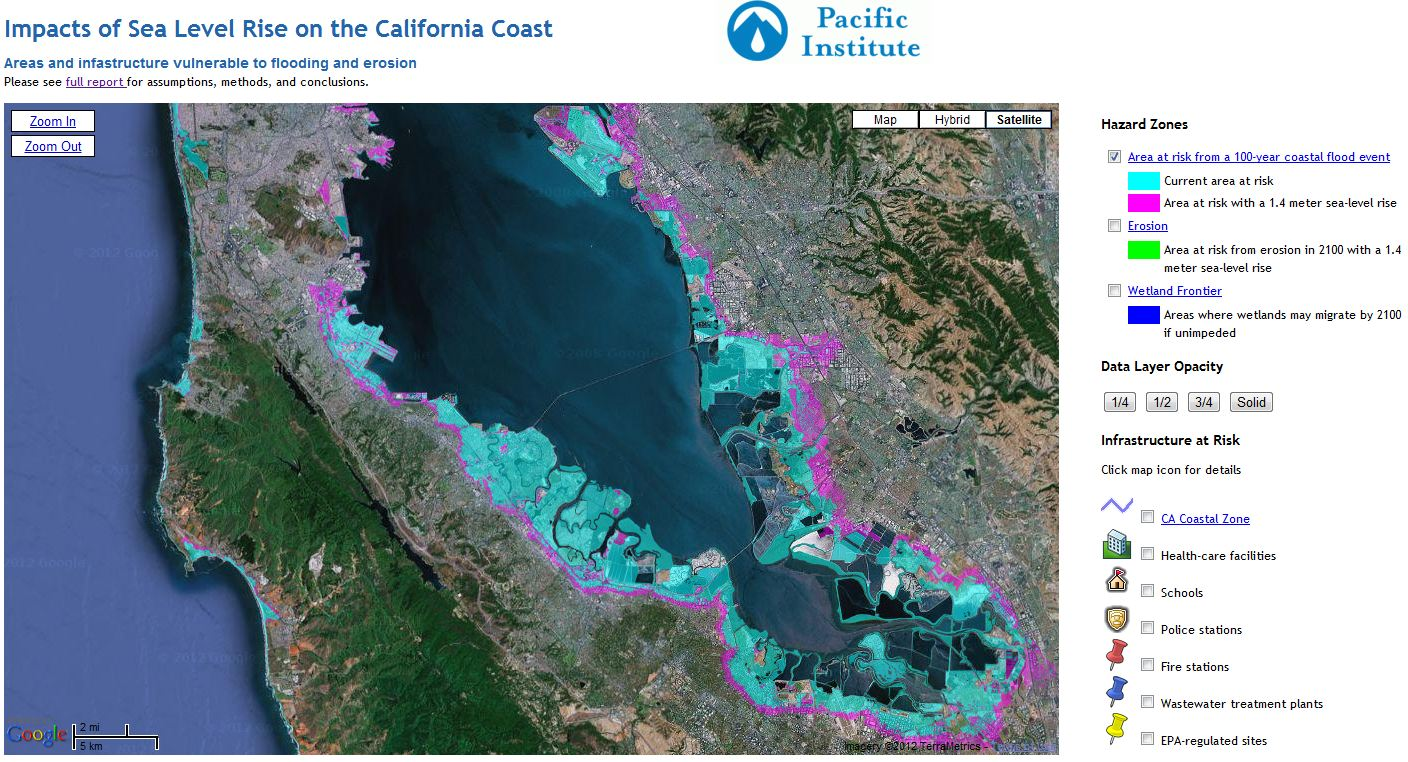 The Very Real Threat Of Sealevel Rise To The United States HuffPost - Sea rising map