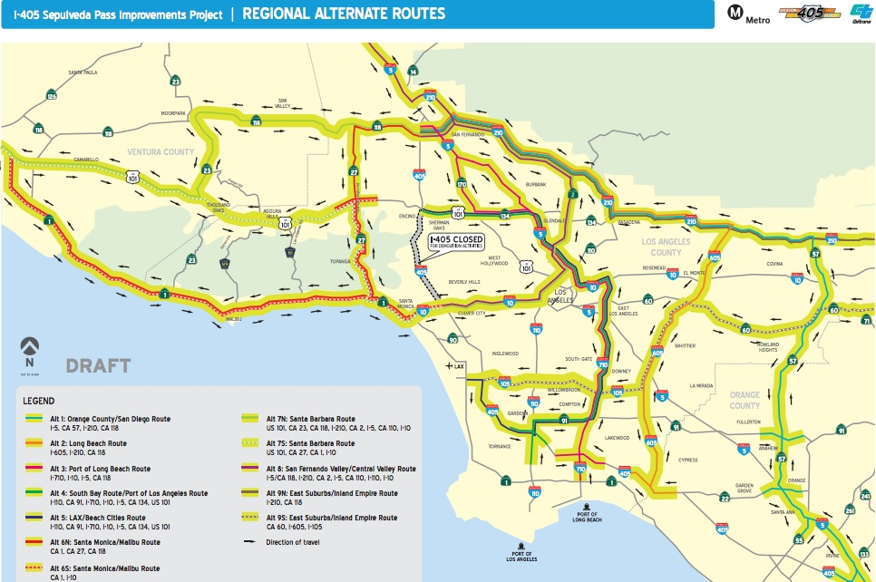 2012 09 27 Screenshot20120926at9 28 15pm Jpg Map Courtesy Of Metro Highway Alternate Routes