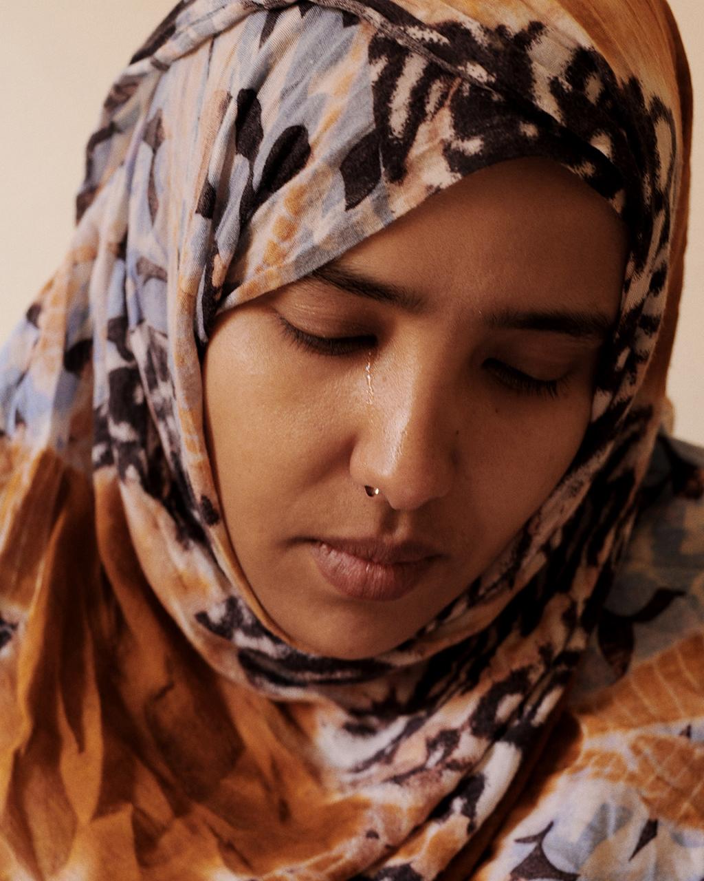 Laayoune, <b>Sahara Occidentale</b>, 2012, Leila Dambar, sorella di Said Dambar, <b>...</b> - 2012-10-08-ghizzoni_05